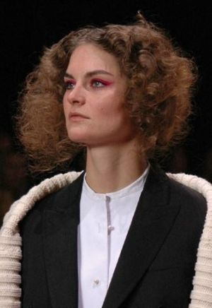 Anouck Lepere - Anouck Lepere at Paul Smith Women Fall 2007 fashion show, London Fashion Week
