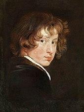 Jugendliches Selbstporträt, um 1615 (Gemäldegalerie der Akademie der bildenden Künste Wien) (Quelle: Wikimedia)