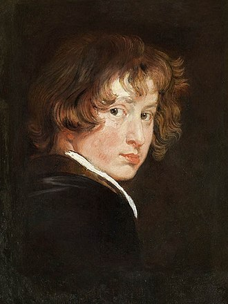 Anthony van Dyck - Self-portrait, 1613–14