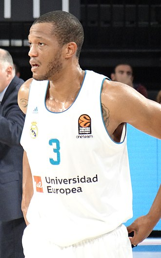 Anthony Randolph - Randolph with the Real Madrid in October 2017