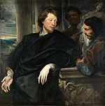 Anthony van Dyck - George Gage with Two Men - WGA07415.jpg