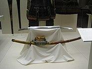 Antique Japanese tachi with koshirae