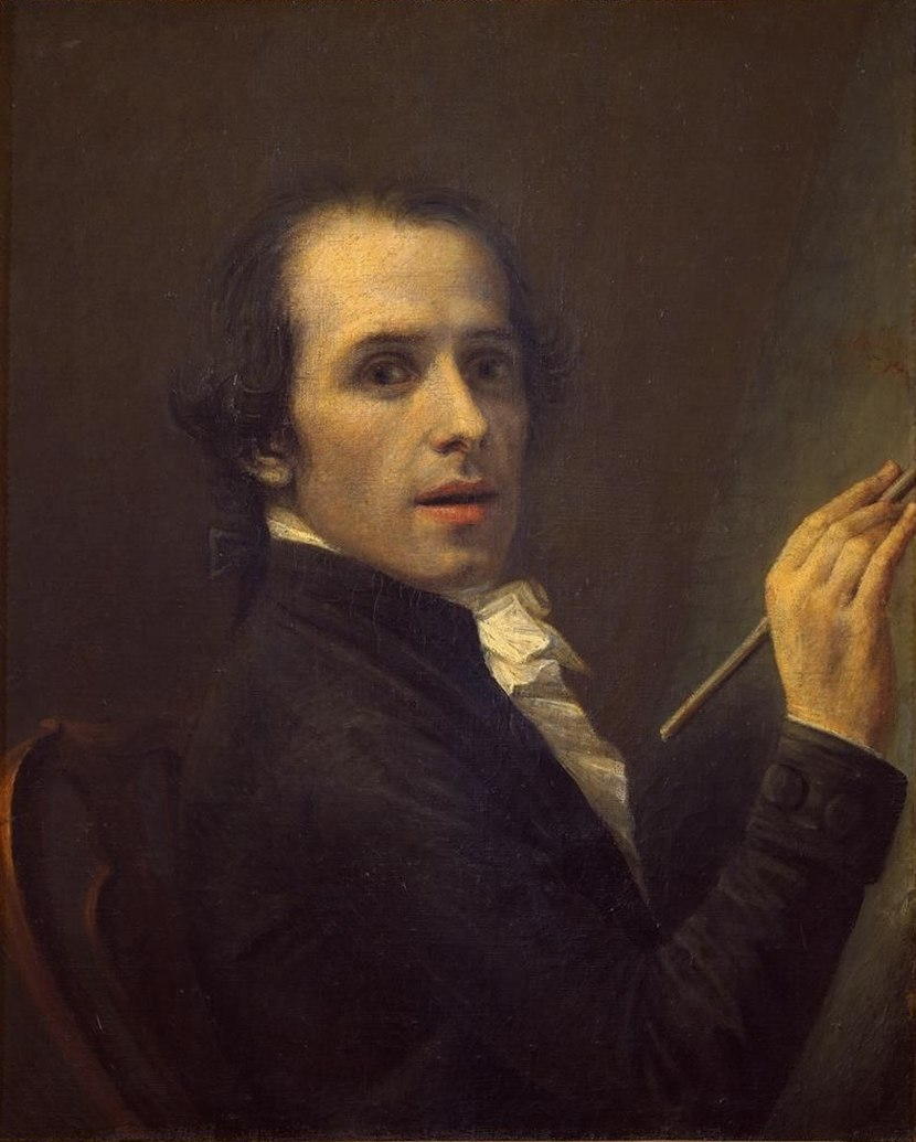 Antonio Canova Selfportrait 1792