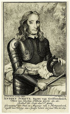 Siege of Leuven - Anthonie Schetz, Baron of Grobbendonck.