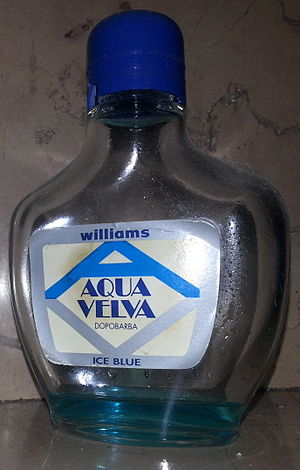 Aqua Velva (cocktail) - The aftershave whose color inspired the cocktail's name