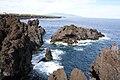 Arcos do Cachorro, aspecto da costa, Bandeiras, concelho da Madalena, ilha do Pico, Açores.JPG