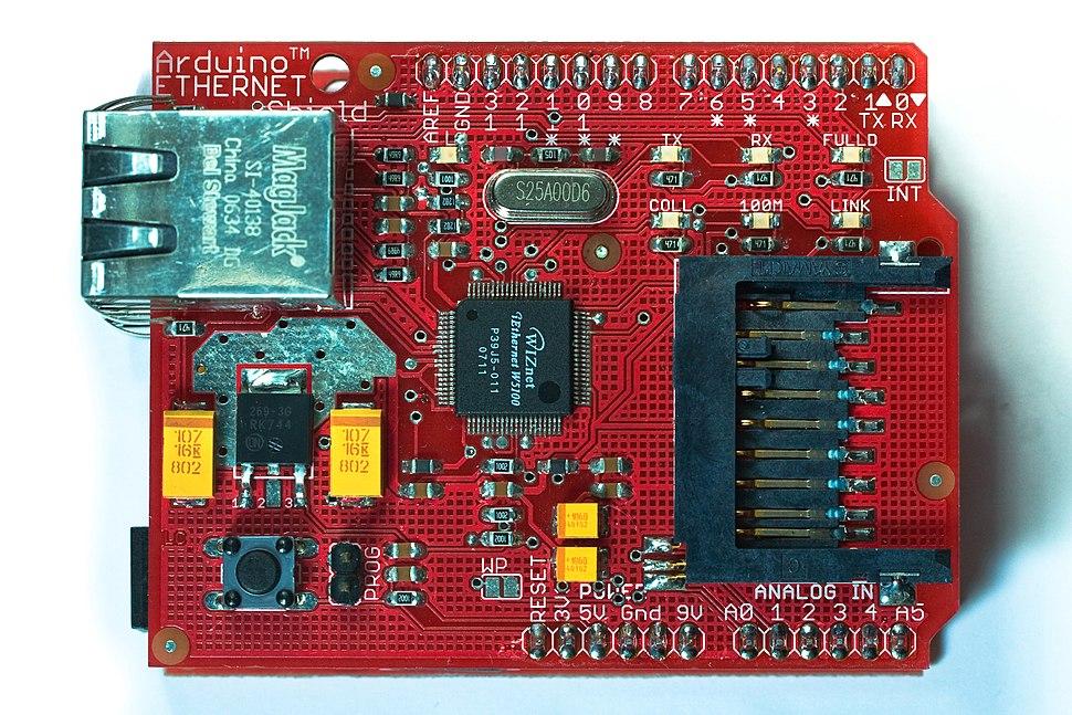 Arduino Ethernet Shield (pre-production sample)