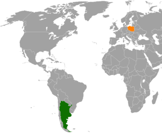 Diplomatic relations between the Argentine Republic and the Republic of Poland