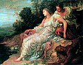 Ariadne on the Island of Naxos by George Frederick Watts.jpg
