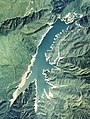 Arimine Dam Lake Aerial photograph.1977.jpg