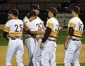 Arizona State Sun Devils baseball players (17669128191).jpg