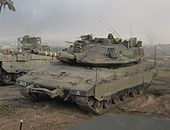 Armoured Corps operate near the Gaza Border-1.jpg