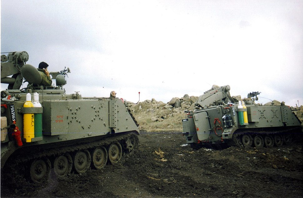 Armoured Recovery M-113 14