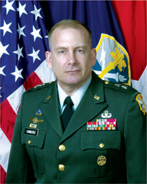 Army Staff's Deputy Chief of Staff, G-2 in 2005, LTG John Kimmons.png