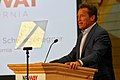 Arnold Schwarzenegger speaks at New Way California Press event in Los Angeles (40917746622).jpg