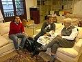 Arquitectos. Oriol Bohigas. MBM Arquitectes. Jorge Rocchi. Estéfano Rocchi. Duccio Rocchi. Barcelona. 2012-02-02.jpg