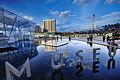 ArtScience Museum, overlooking Marina Bay Hotels, Singapore Flyer and the Helix Bridge.jpg