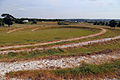 Art earthwork landscape sculpture Woodland Trust Theydon Bois Essex 03.JPG