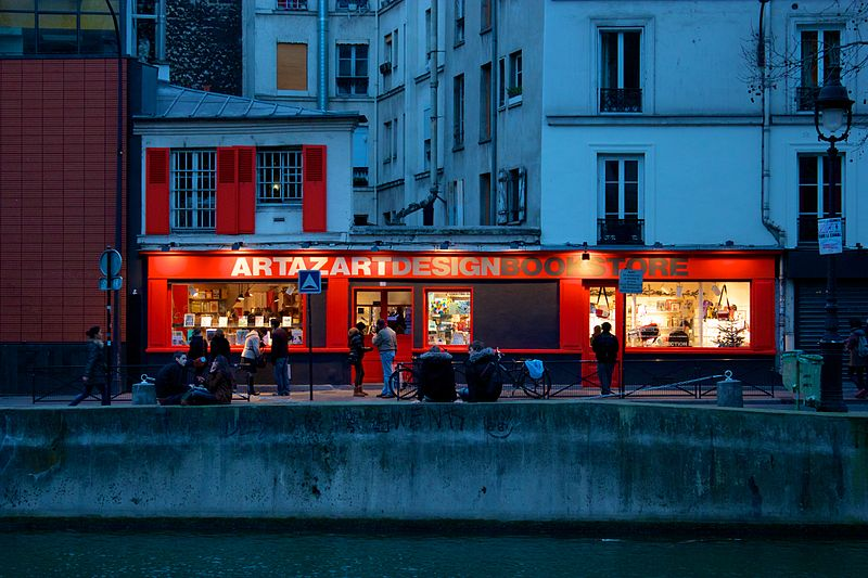Artazart Design Bookstore. From 20 + Best English Bookstores in Paris