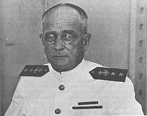 Arthur Japy Hepburn - As Senior Naval Advisor to the Geneva Conference delegation in 1932.