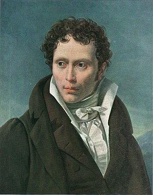 Arthur Schopenhauer by Ludwig Sigismund Ruhl.