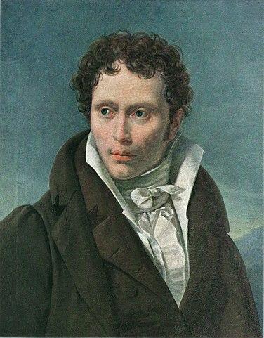 Портрет 29-летнего Артура Шопенгауэра кисти Л. Руля