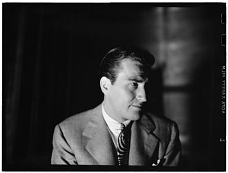 Artie Shaw - Artie Shaw, ca 1947. Photograph by William P. Gottlieb