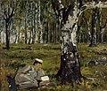 Arvid Liljelund - Opintoja luonnossa - A IV 3629 - Finnish National Gallery.jpg