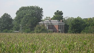 Scott Township, Montgomery County, Indiana - Ashby, a historic home in the township