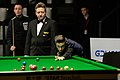 Ashley Carty, Martin Gould and Thorsten Müller at Snooker German Masters (DerHexer) 2015-02-04 01.jpg
