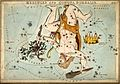Astrology; constellations, Hercules. Coloured engraving by S Wellcome V0024934.jpg