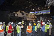 Atlantis on display - pre-opening