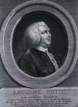 Antoine Petit - Antoine Petit drawn and engraved by Charles-François-Adrien Macret in 1775