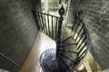 Attic staircase. U.S. Custom House, East Bay and Bull Streets, Savannah, Georgia LCCN2014630117.tif