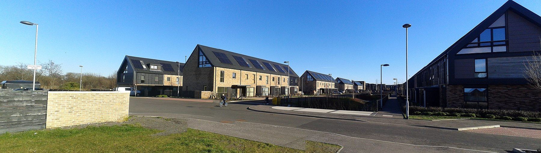 The 2014 Commonwealth Games athlete's village at Dalmarnock, Glasgow Auckland Wynd, Dalmarnock 2016-03-07.jpg
