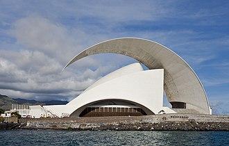Auditorio de Tenerife - Image: Auditorio de Tenerife, Santa Cruz de Tenerife, España, 2012 12 15, DD 02