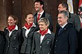 Austria Short Track Speed Skating Team Winter Olympics 2014 Heinz Fischer.jpg
