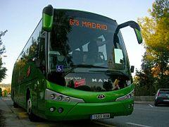 Autobus interurbano
