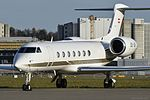 Avcon Jet AG Gulfstream GV-SP (G550) - OE-IZM - ZRH (23182038344).jpg