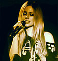 Avril Lavigne eyes shut, Hammersmith Apollo (sharpen).jpg