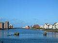 Ayr Harbour from the new Bridge - geograph.org.uk - 258020.jpg