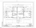 Ayr Mount, Saint Mary's Road, Hillsborough, Orange County, NC HABS NC,68-HILBO,18- (sheet 3 of 20).png