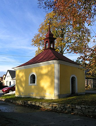 Bílý Kámen - Image: Bílý Kámen, chapel