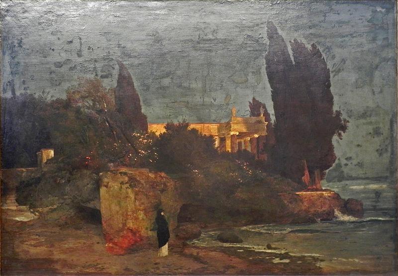 File:Böcklin Villa am Meer I.jpg