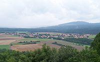 Březová, z hradu Točník.jpg