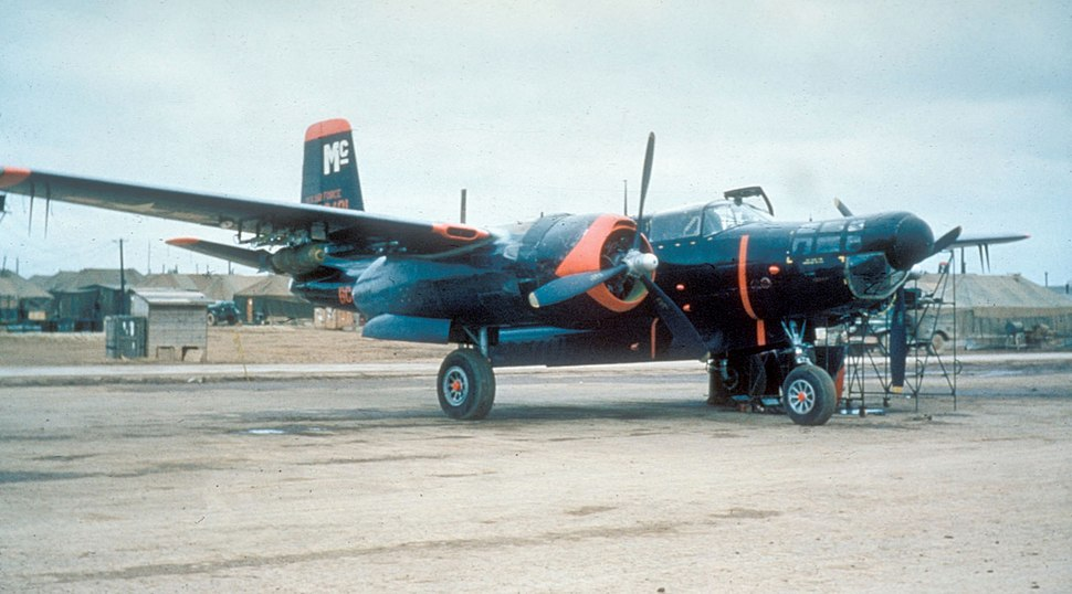 B-26C 13th BS with infrared seeker Korea