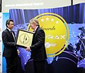 BAC CEO with Edward Plaisted chairman of Skytrax (8654203149).jpg