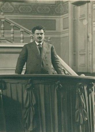 Aleksandar Stamboliyski - Stamboliyski in Paris, 1921