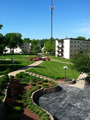 Baptist Bible College (Missouri) - A view of the campus of Baptist Bible College.