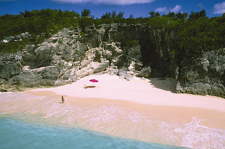 One of Bermuda's pink-sand beaches at Astwood Park BDA Bermuda.jpg